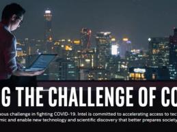 Intel Launches $50M Pandemic Response Technology Initiative to Combat Coronavirus