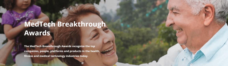 2020 MedTech Breakthrough Award Winners Announced