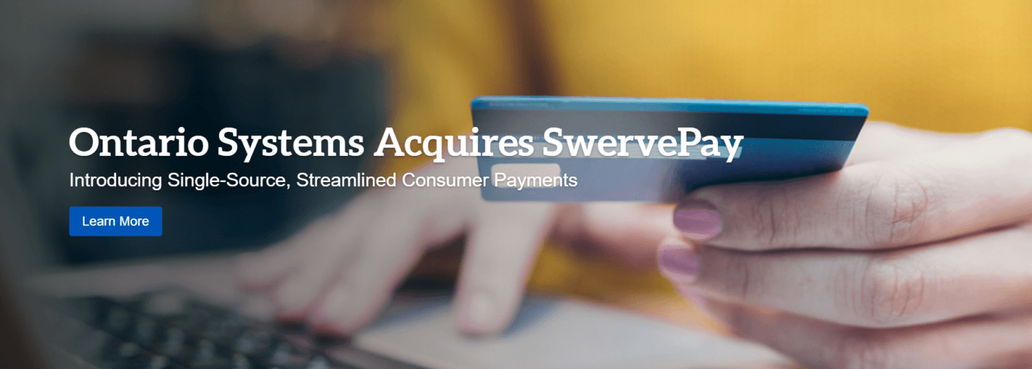 Ontario System's Acquires SwervePay to Create End-to-End SaaS Solution