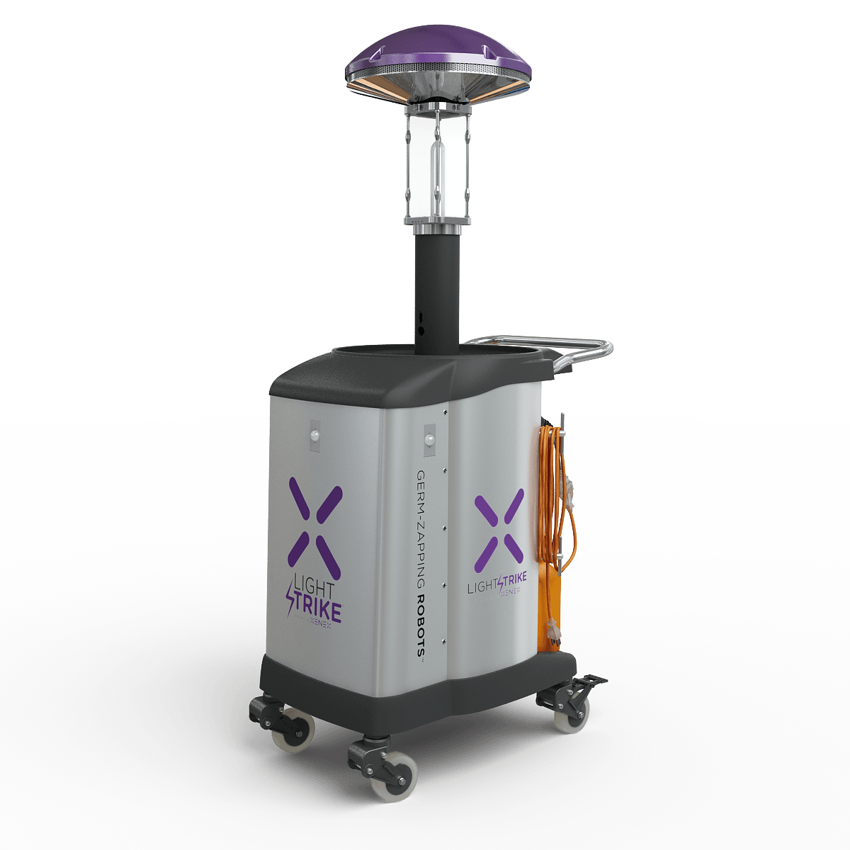 Disinfection Robot That Destroys COVID-19 Virus in 2 Minutes Launches in Texas