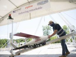 Novant Health Launches Nation's First Emergency Drone Operation for COVID-19 Pandemic Response