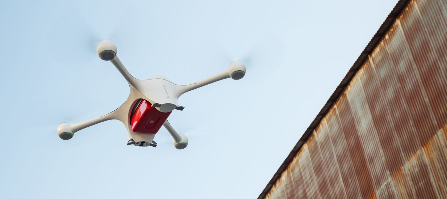 Wake Forest Baptist Health Launches Drone Delivery for PPE, Medicines for COVID-19