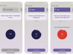 New Voice-Based App Enables Behavioral Health Measurement Anytime, Anywhere