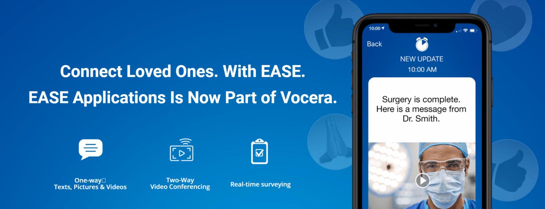 Vocera Acquires Secure Communications Platform EASE Applications