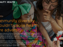 Equality Health Launches Social Determinants Program to Tackle Health Disparities