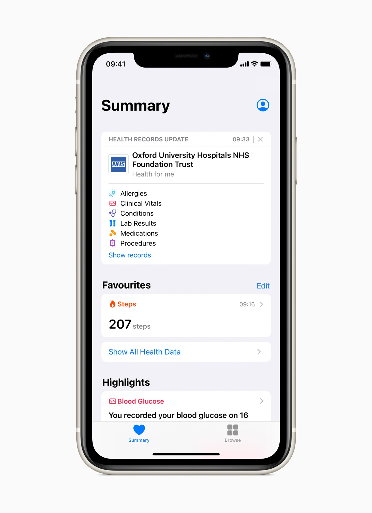 Apple Rolls Out Health Records on iPhone to the UK, Canada: