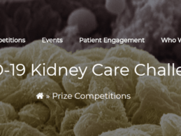 ASN, HHS Launches KidneyX COVID-19 Kidney Care Challenge