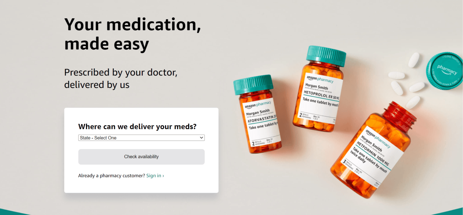 Amazon Launches Digital Pharmacy Store: 6 Key Things to Know