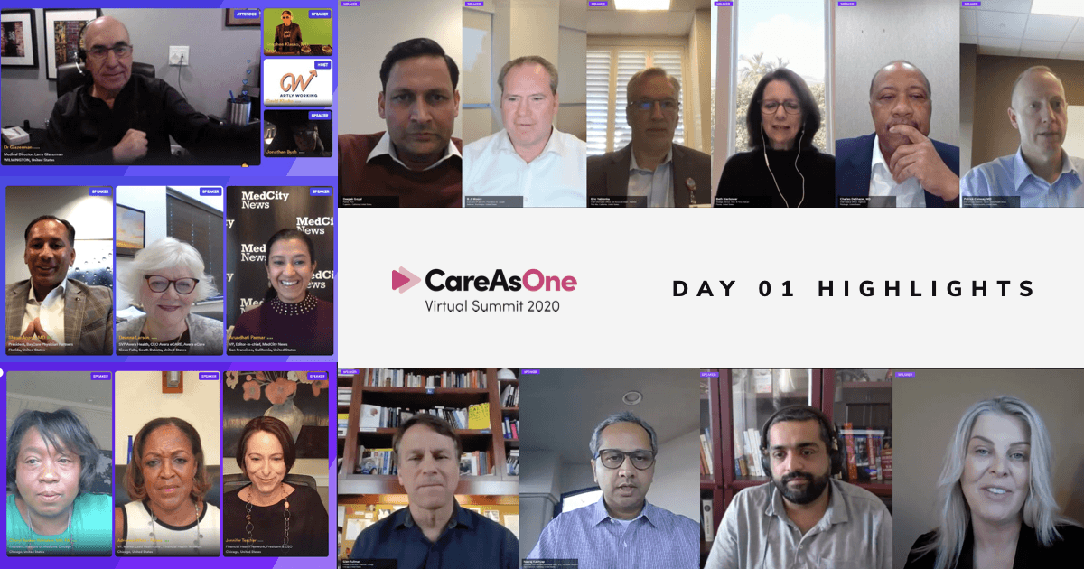 CareAsOne Summit 2020 Kicks Off Discussing Transformation in Healthcare