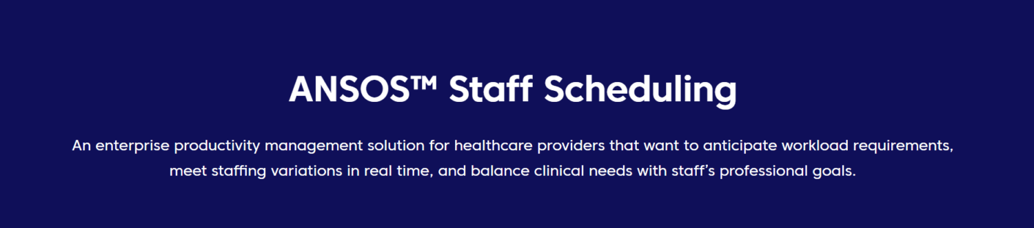 HealthStream Acquires Change Healthcare's Staff Scheduling Business for $67.M
