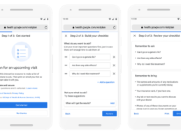 AHRQ and Google Pilot New Tool to Help Patients Plan for Medical Visits