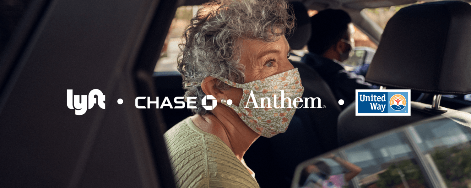 Lyft, Launches 60M Ride COVID-19 Vaccine Access Campaign with Anthem, Chase, Epic, United Way, Others