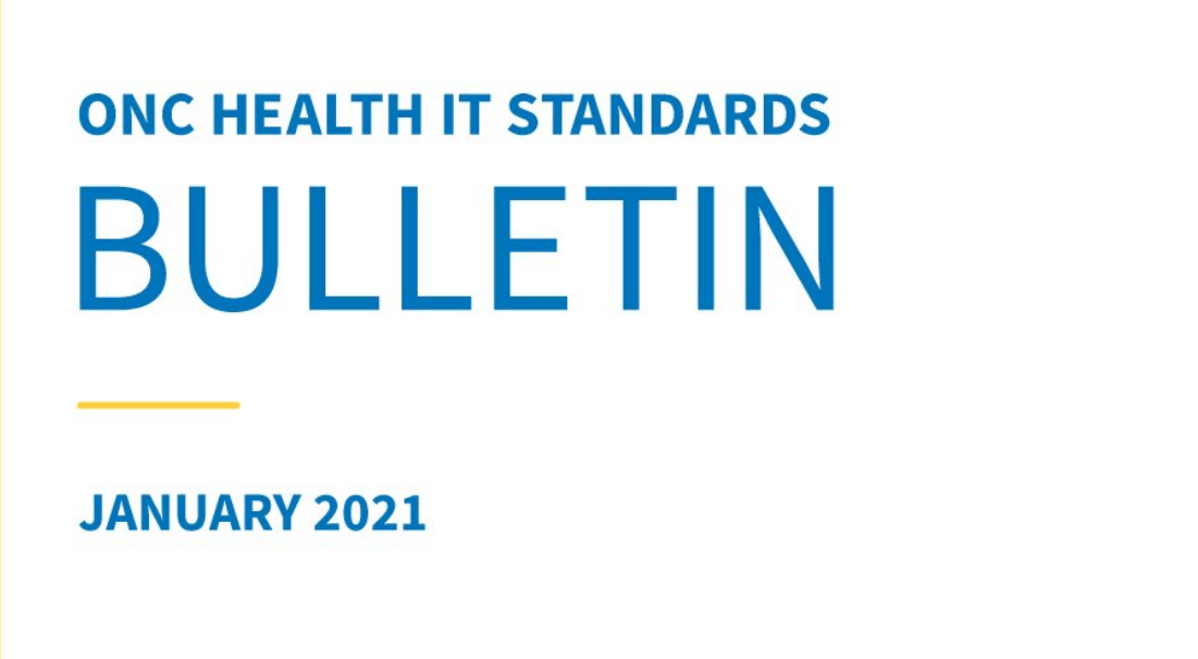 ONC Issues First Health IT Standards Bulletin Discussing USCDI & SVAP