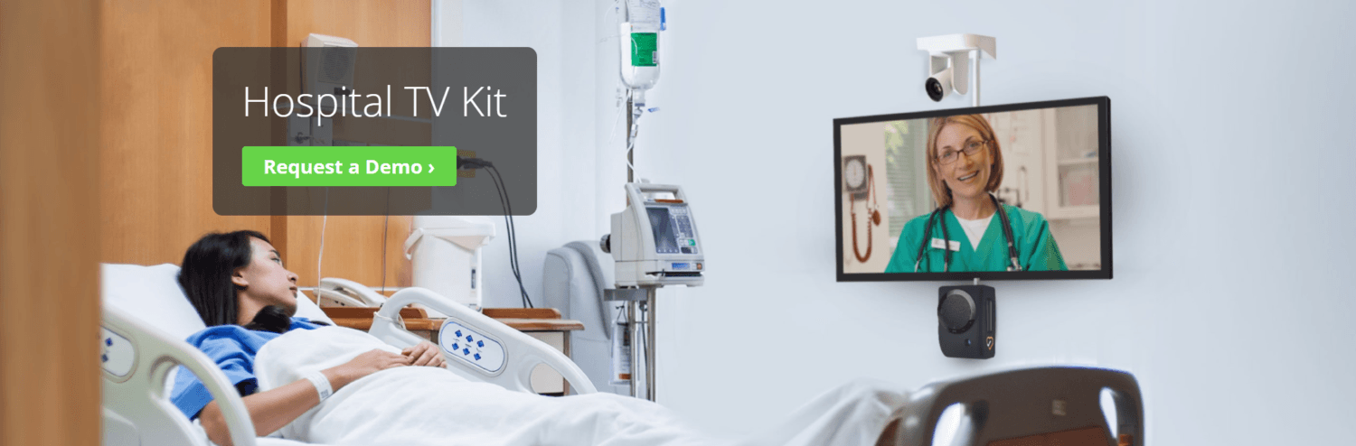 Amwell Launches Smart TV Carepoint Device to Increase Telehealth Use in Patient Rooms
