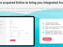 NexHealth Acquires Paperless Digital Forms Company Enlive