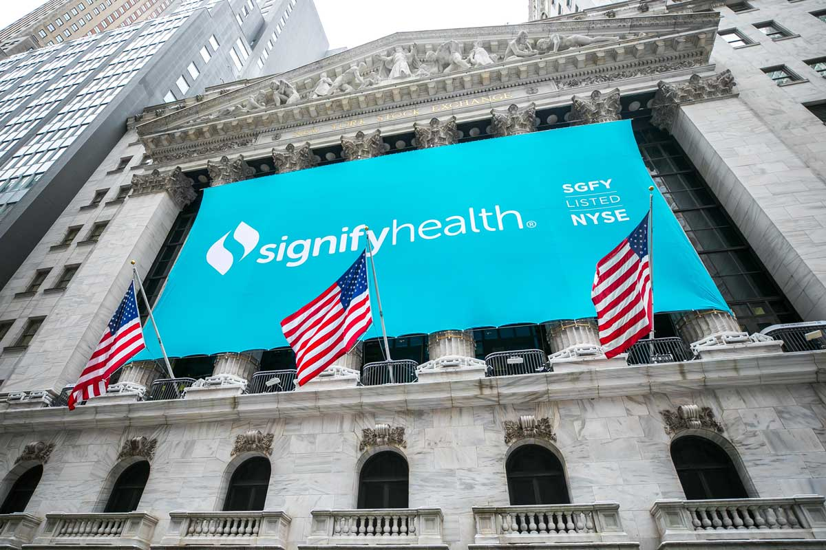 Signify Health Shares Soar More Than 33% in IPO, Valuing Company at Over $7.12B
