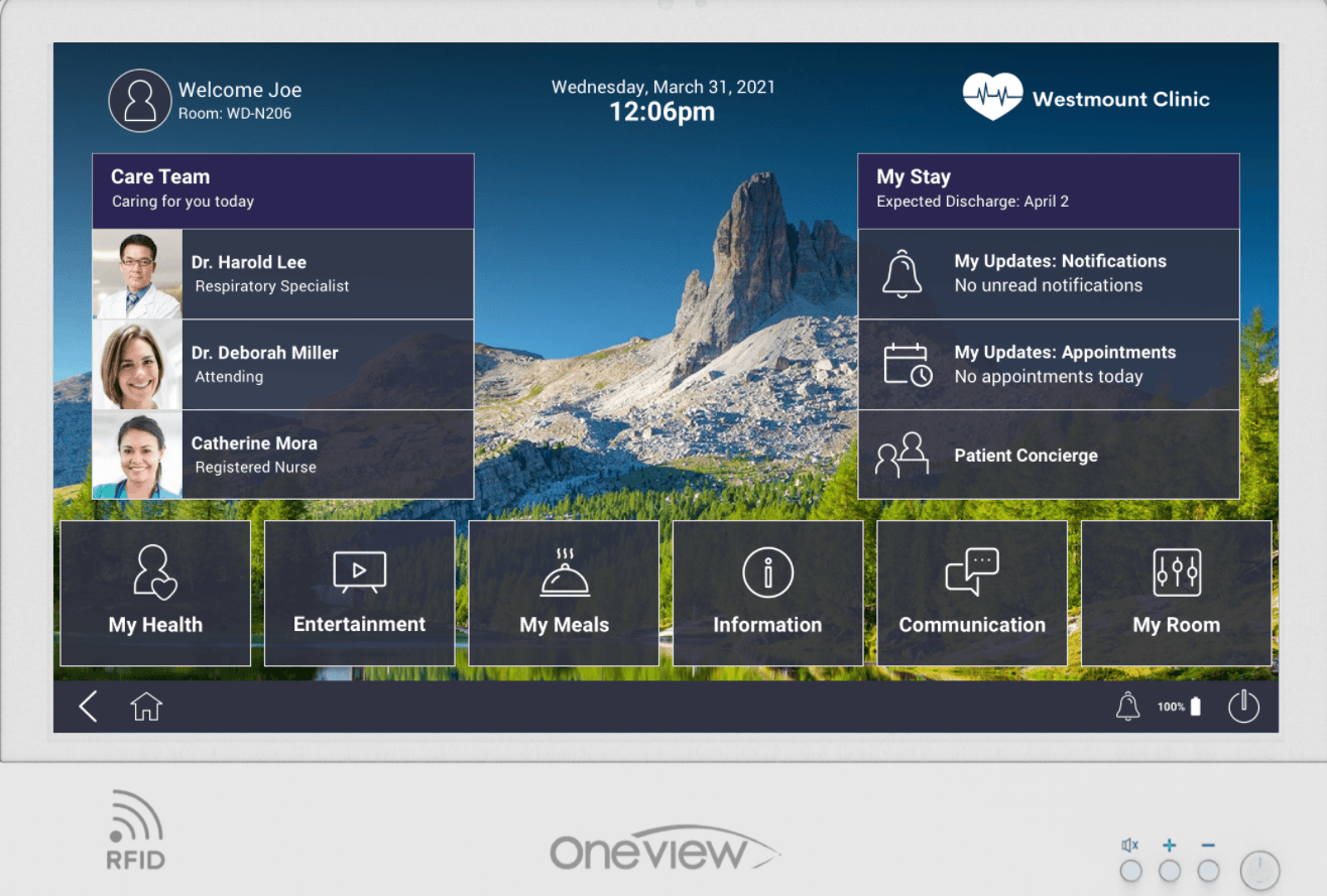 Oneview Healthcare Launches Cloud-Based Virtual Care Experience Platform