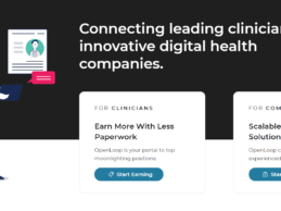 OpenLoop Raises $3M to Expand Digital Health Marketplace for Clinicians