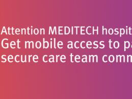 PatientKeeper Integrates with MEDITECH Expanse EHR for Physicians' Mobile Devices