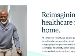 明天的健康为家庭护理平台筹集2500万美元的耐用医疗设备