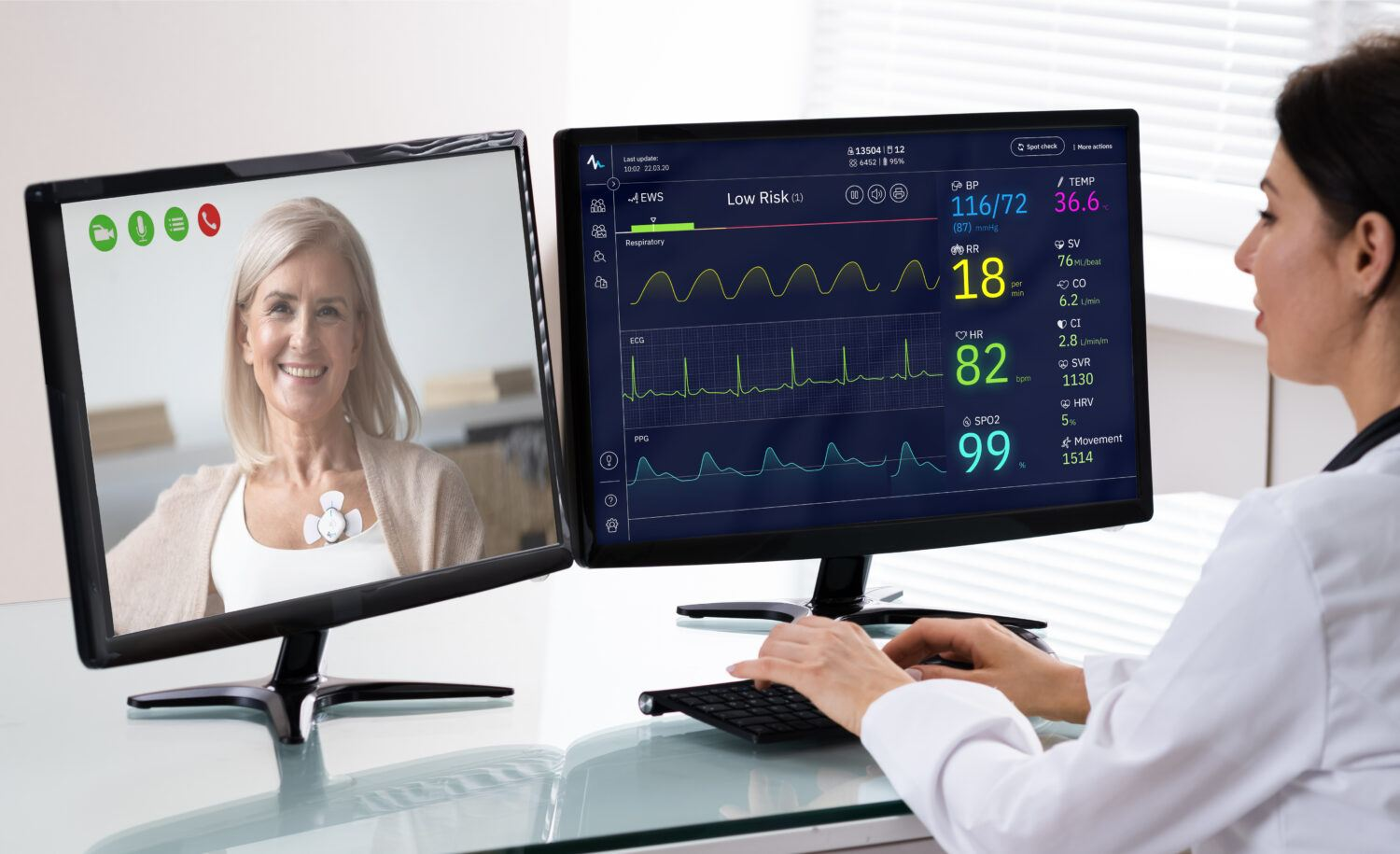 Amwell Integrates Biobeat's Wearable RPM Devices with Virtual Care Platform