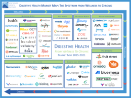 Digestive Health Market Map: Spectrum from Wellness to Chronic