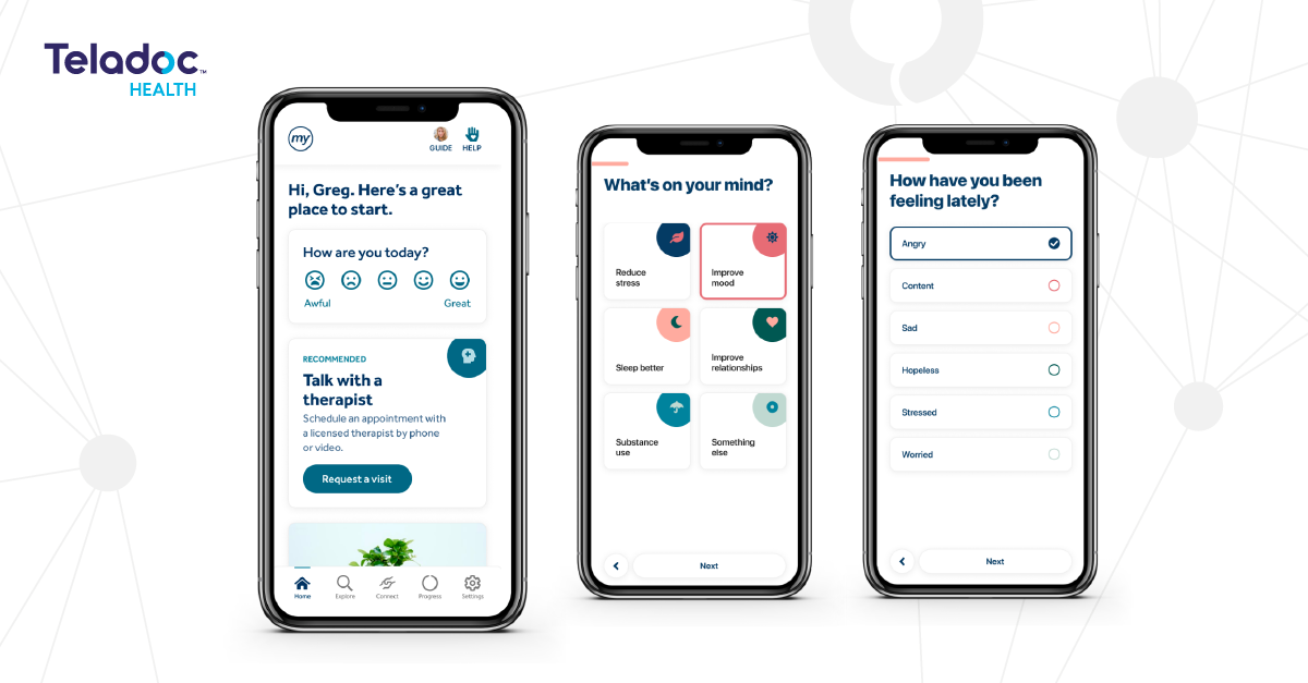 Teladoc Health Launches Unified Mental Health Care Experience