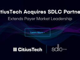 CitiusTech Acquires SDLC Partners to Drive Health Plan Digital Transformation – M&A