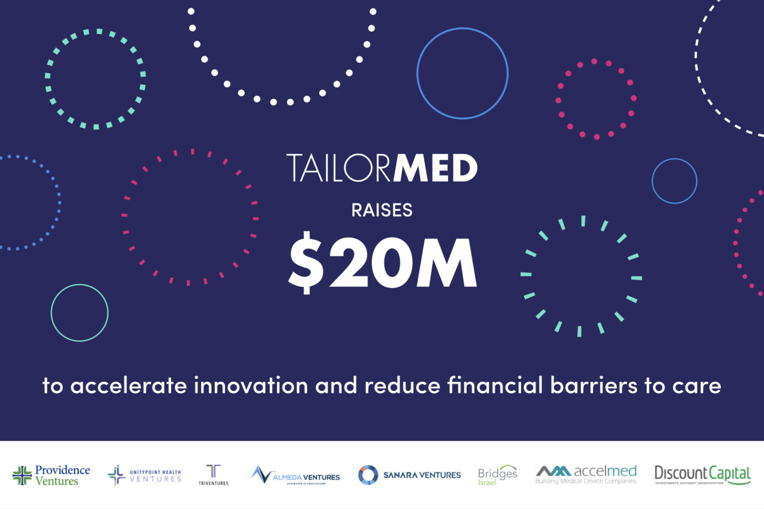 TailorMed Nabs $20M for Patient Financial Navigation Platform, Backed by Providence Ventures