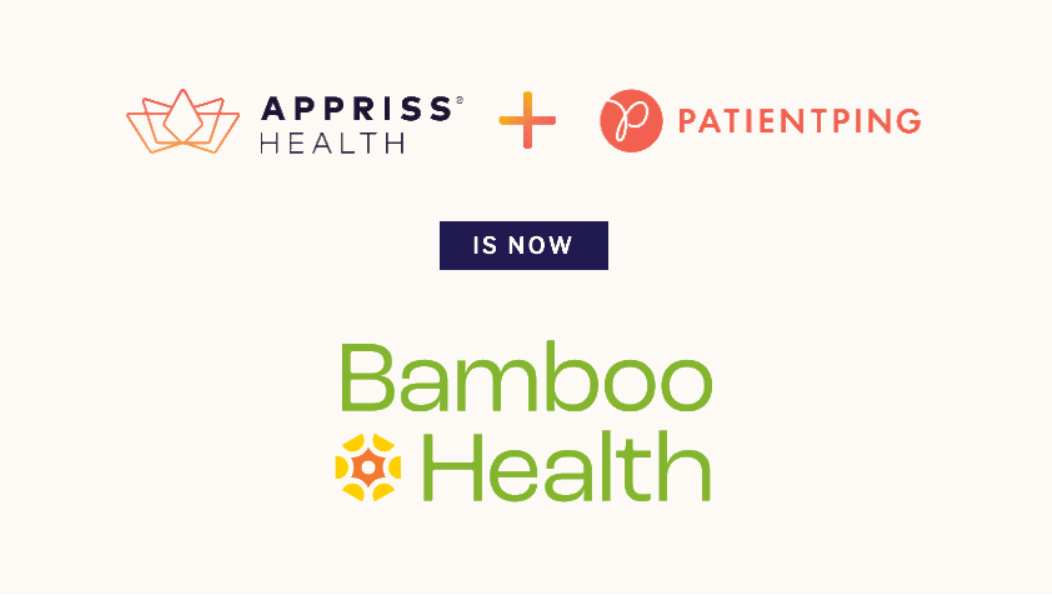 Appriss/Patient Ping Rebrands as Bamboo Health