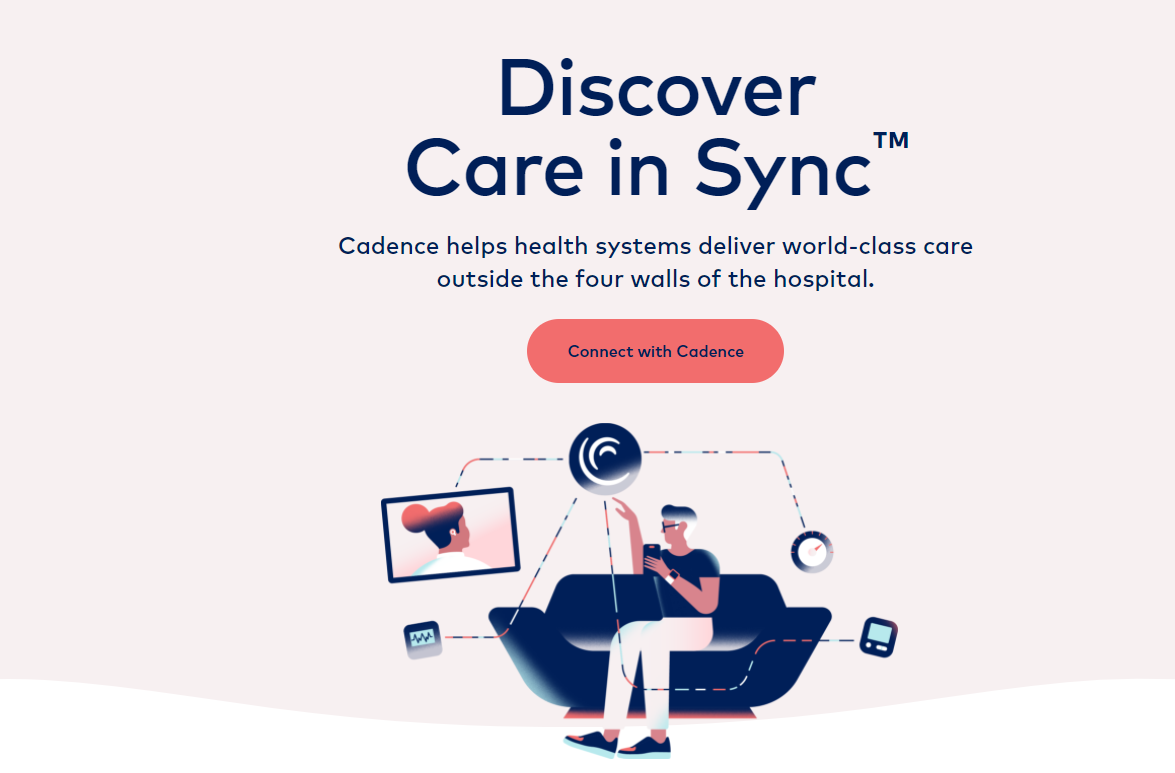 Cadence Launches with $ 41M and LifePoint Health Partnership for Remote Patient Monitoring Platform