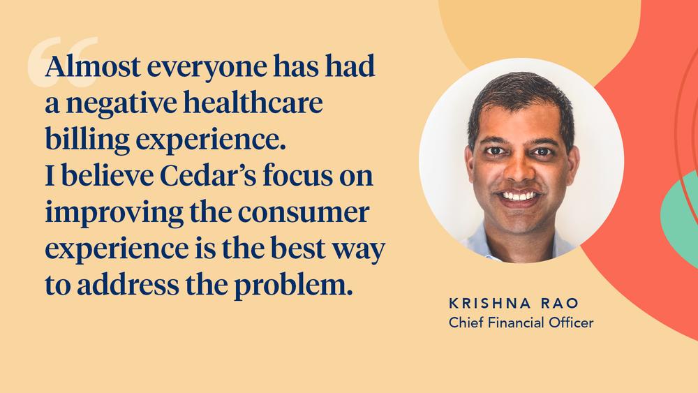 Cedar appoints Krishna Rao as CFO