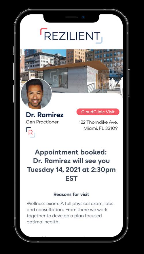 Rezilient Health Raises $2.5M to Open Virtual Primary Care CloudClinics