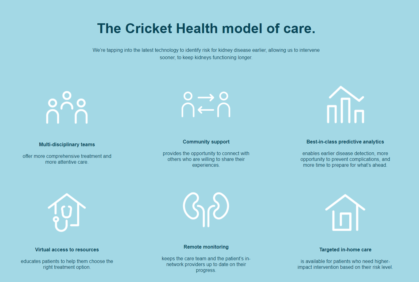 Cricket Health Raises $ 83.5 Million to Expand Value-Based Kidney Care Model to Health Plans